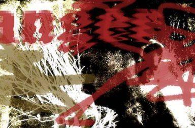 anger rote Schrift gelbe Blitze Krakel