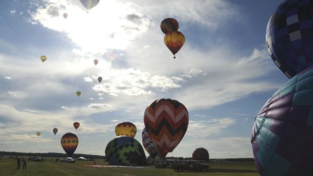 startende Ballons