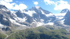 Berge als Hindernis