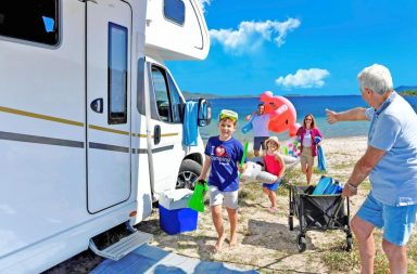 Camping am Meer