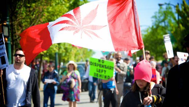 Demonstration Cannabis Kanada