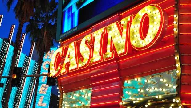 Casino Leuchtschrift