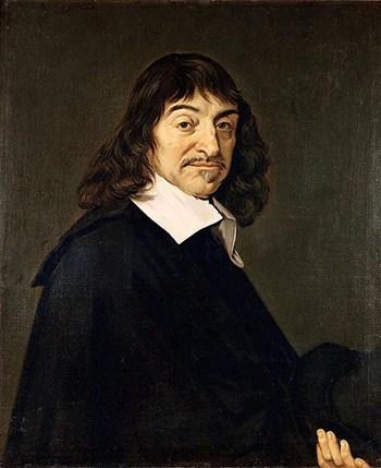 Porträt von Descartes