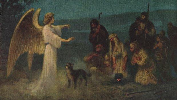Engel, Hund und Hirten
