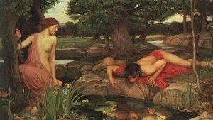 Echo und Narziss, Gemälde Waterhouse