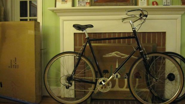 Fahrrad Kaminsims Karton