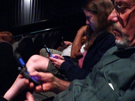 Smartphone im Kino