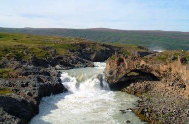 Flussströmung
