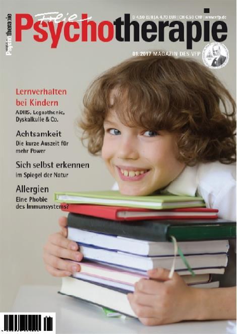 Freie Psychotherapie Titelblatt