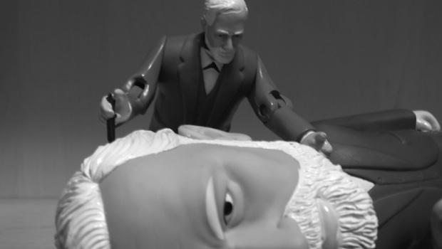 Freud Puppe und Kopf
