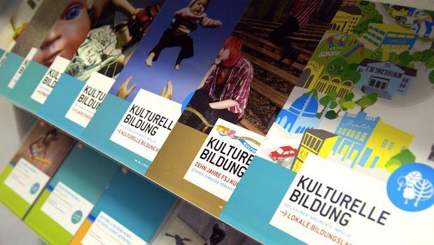 Flyer zur kulturellen Bildung bei Kindern