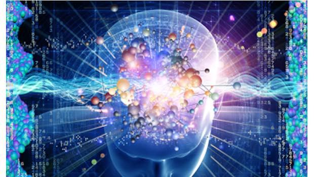 Gehirn Vernetzung Universum Datenstrom