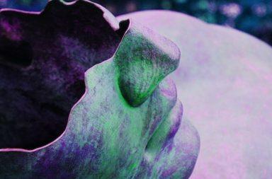 Gesicht einer Statue Kopf kaputt