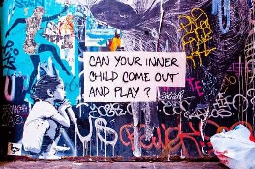 Graffiti: inneres Kind