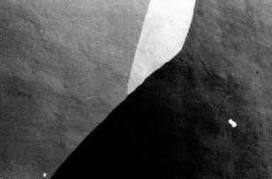 graue Steinmauer Licht und Schatten