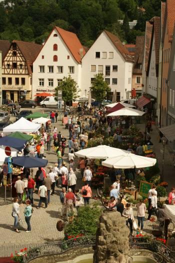 kleiner alter Marktplatz