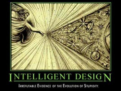 Gott als Schöpfer, intelligent design