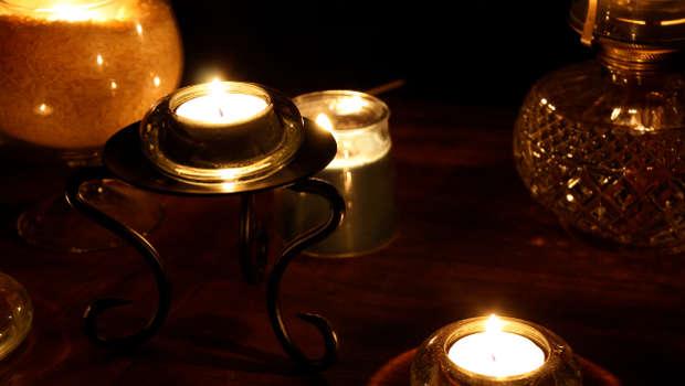Kerzenschein, Tisch