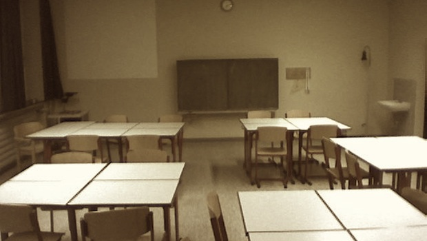 Klassenzimmer Frontalunterricht