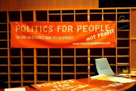 orangefarbenes Banner