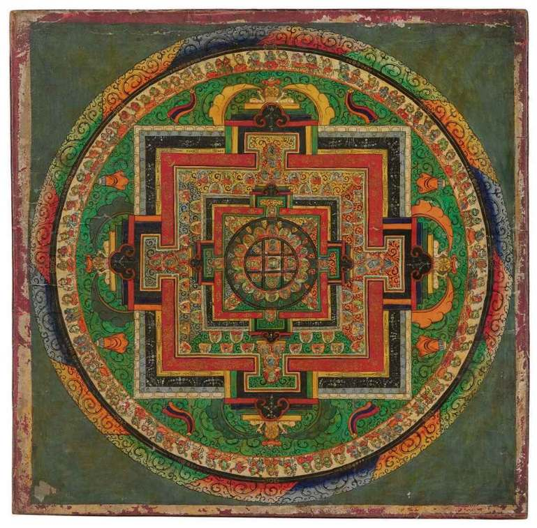 tibetisches Mandala