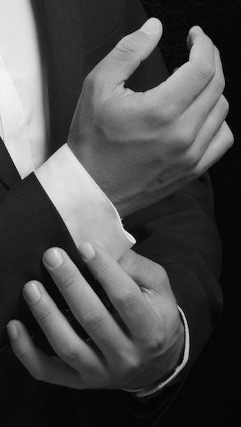 Hände eines Mannes