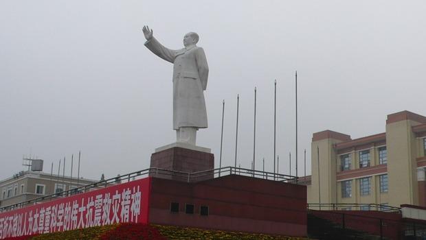 Statue von Mao