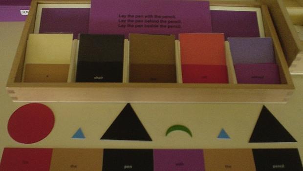 Lernmaterial Montessorischule