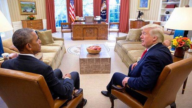 Obama und Trump