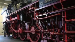 Räderwerk eines Zuges