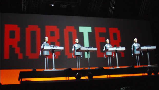 Roboter auf der Bühne