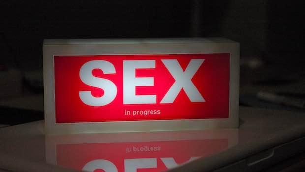Sex Progress rote Leuchte