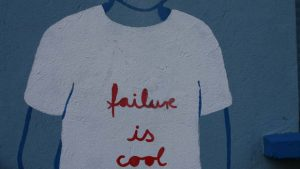 Shirt: Failure is cool