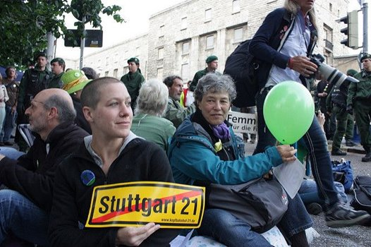 Demo gegen Stuttgar 21