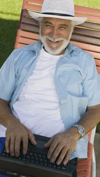 Soziale Medien bieten Wege aus dem Alleinsein im Alter