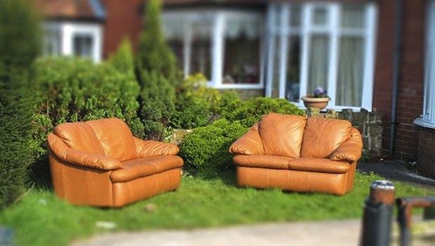 Sitzmöbel im Garten