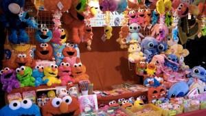 Spielzeug Verkaufsstand