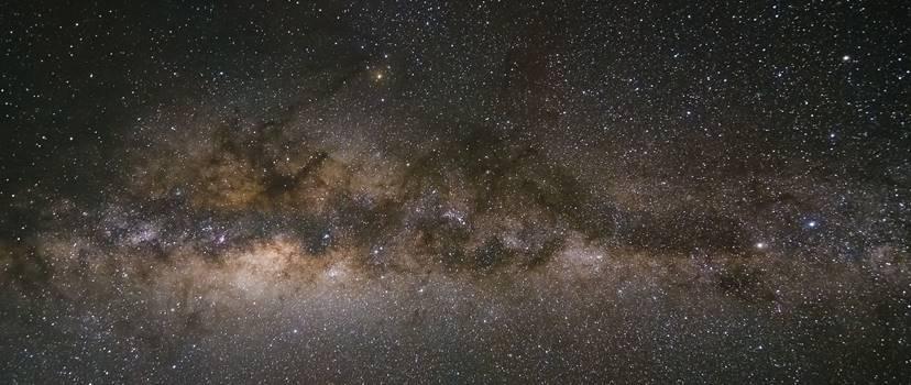 Sternenhimmel mit Michstraße