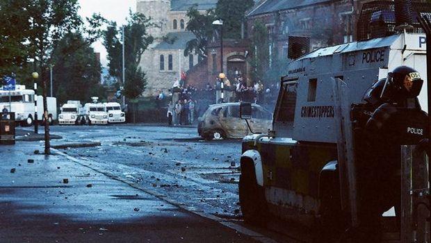 Straßenschlacht
