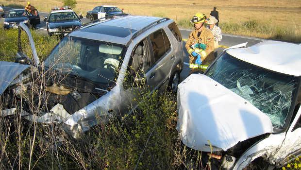 Traumatisches Erlebnis Verkehrsunfall