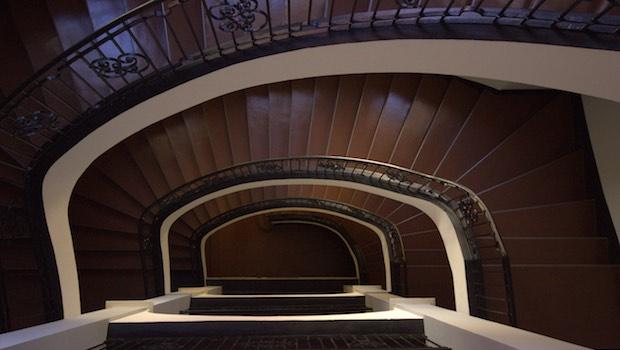 Treppenhaus Blick von oben