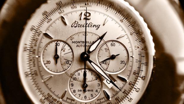 Uhr mit Chronographen Breitling
