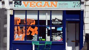 kleiner Laden, veganer Supermarkt