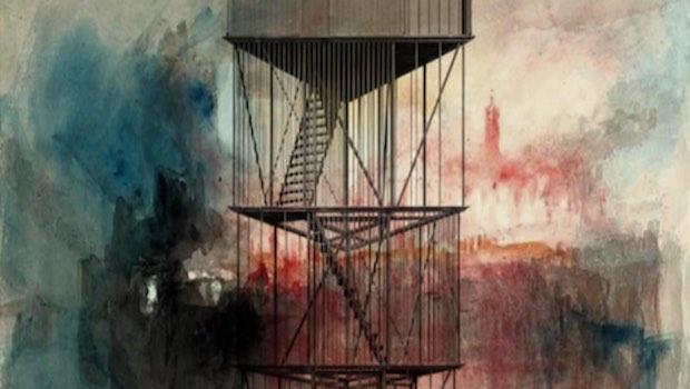 Zeichnung, Käfig, Gitterstäbe, Turm